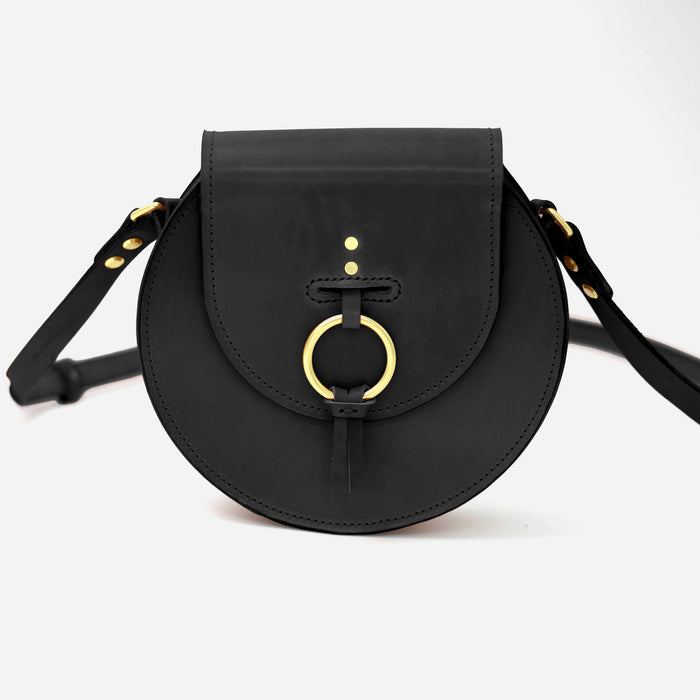 Circle Cross Body Black