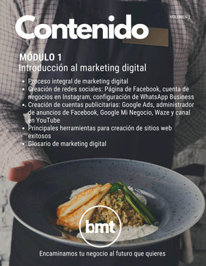Manual Interactivo de Marketing Digital Aplicado para Restaurantes