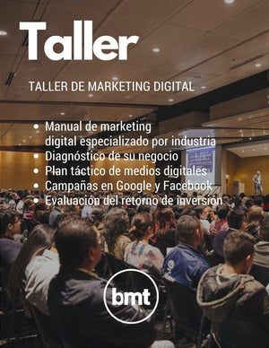 Taller de Marketing Digital BMT Colombia