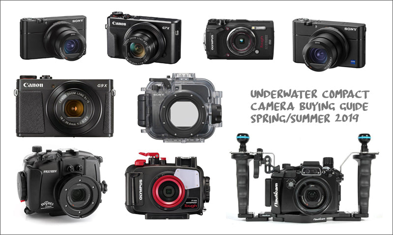 Buying guide: 2019 Underwater compact camera packages