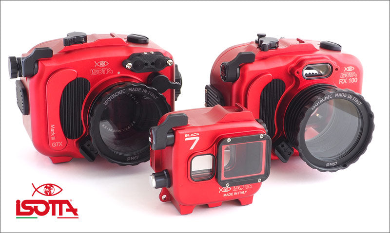 Isotta housings now available at Mike's Dive Cameras