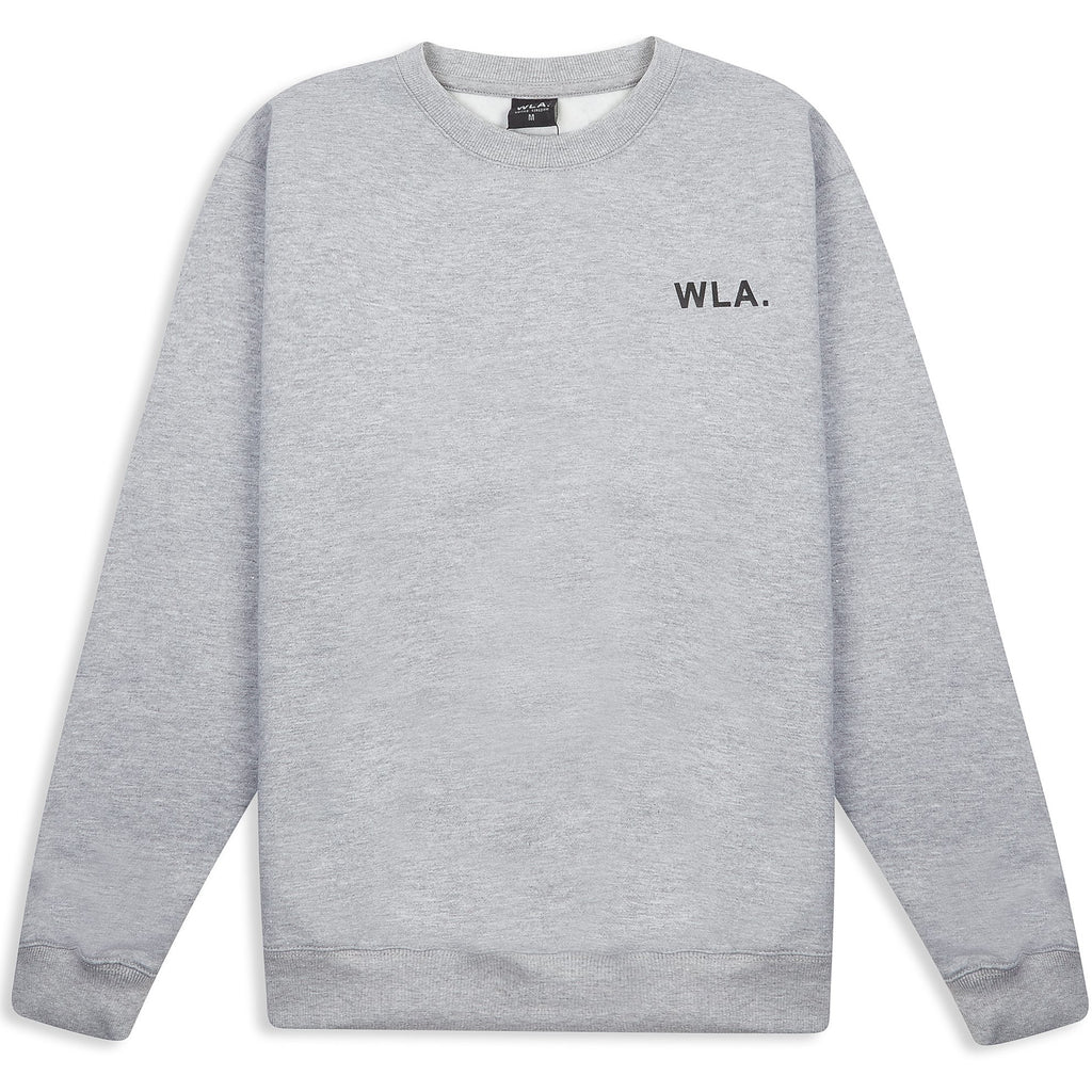 Marl Grey Logo Sweater