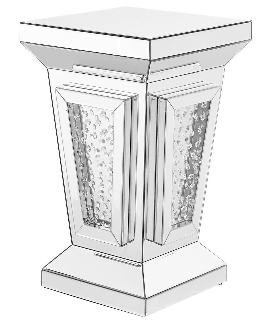 Crystal End Table