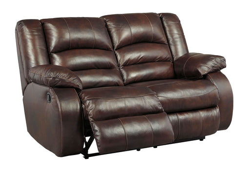 Levelland Cafe Leather Love Seat