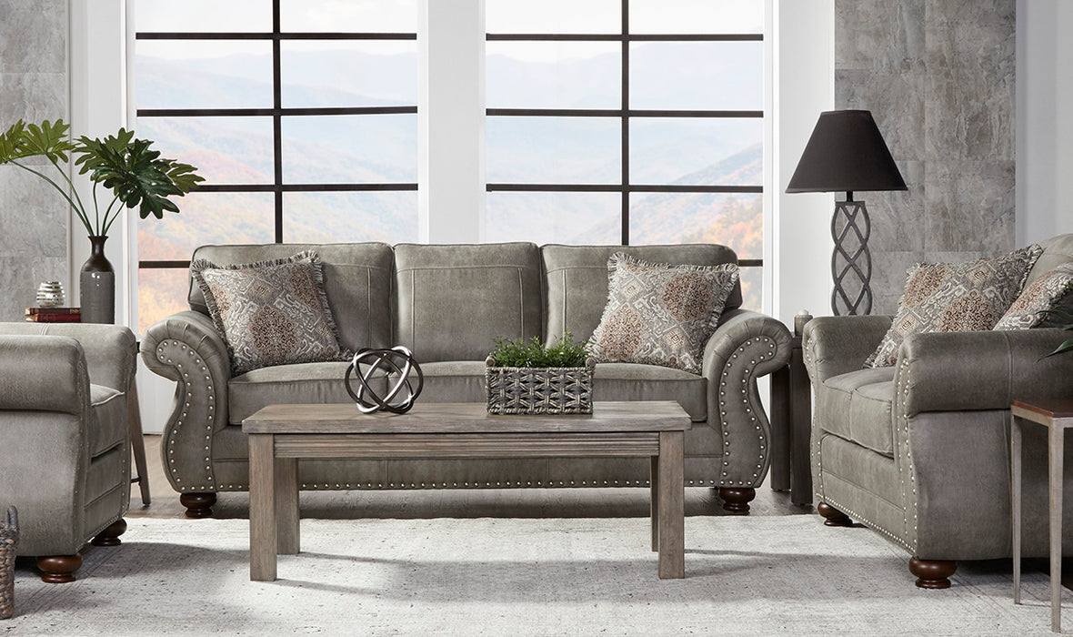 Serta Goliath Mica Grey Loveseat