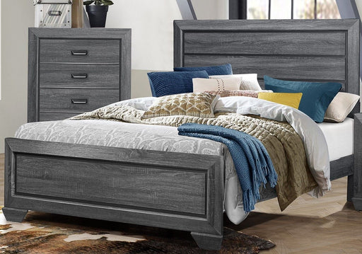 Beechnut Gray Queen Panel Bed
