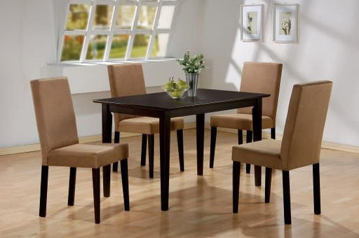 Clayton Brown 5 Piece Dining Room Set