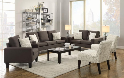 Bachman Gray 2 Piece Living Room Set