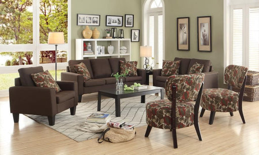 Bachman Chocolate 2 Piece Living Room Set
