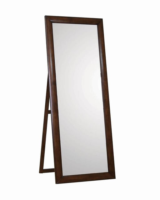 Hillary Brown Floor Mirror