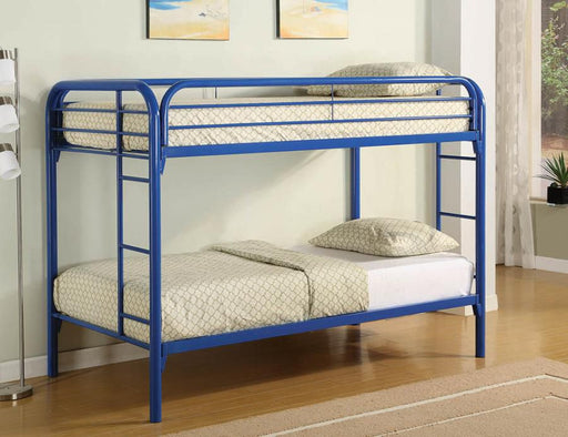 Blue Twin Bunk Bed