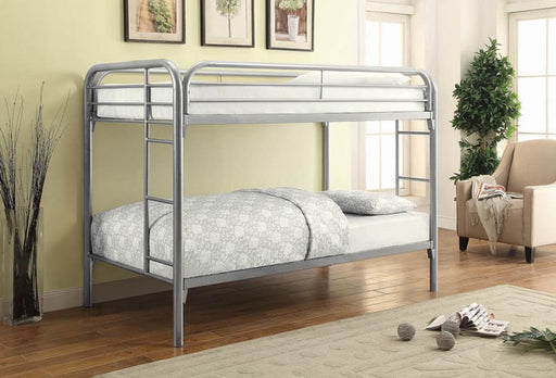 Silver Twin Bunk Bed