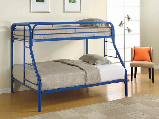 Blue Twin/Full Bunk Bed
