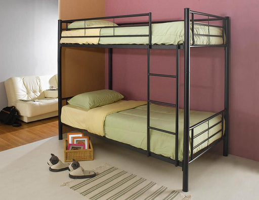 Black Twin Bunk Bed