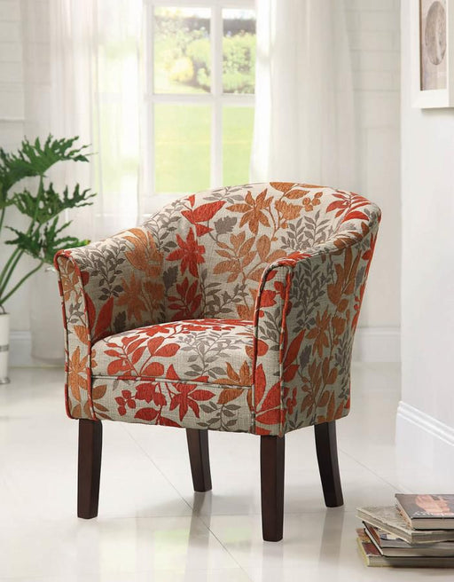 Autumn Leaf Accent Chair