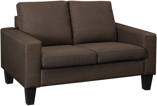 Bachman Chocolate Loveseat