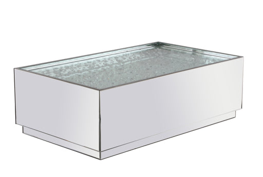 Rectangular Crystal Coffee Table