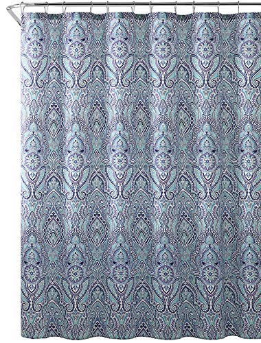 HUDSON & ESSEX FABRIC SHOWER CURTAIN
