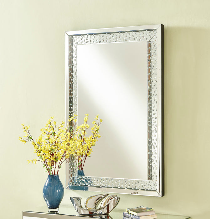 Modern Crystal Mirror