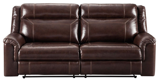Wyline Coffee Leather Power Sofa
