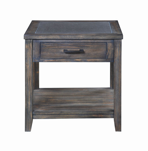 Rustic Nutmeg End Table