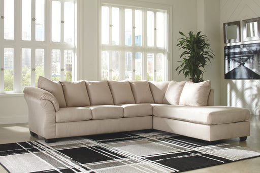Darcy Stone 2 Piece Sectional