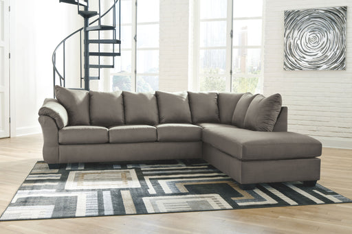 Darcy Cobblestone 2 Piece Sectional