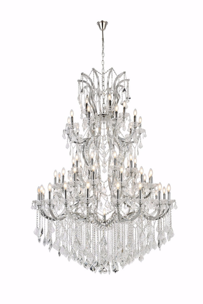 Maria Theresa Collection Chrome Finish 61 Light Chandelier