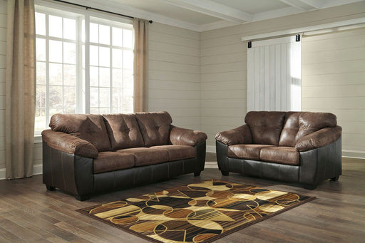 Gregale Coffe 2 Piece Living Room Set