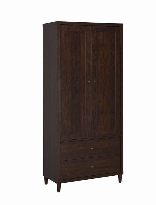 Tobacco Tall Cabinet