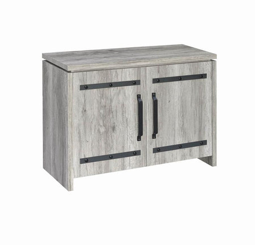 Grey Driftwood Accent Cabinet