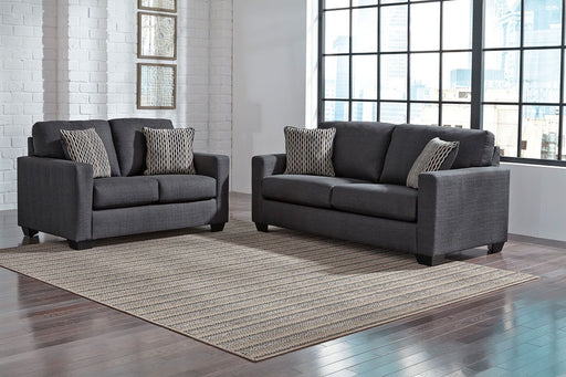 Bavello Indigo 2 Piece Living Room Set