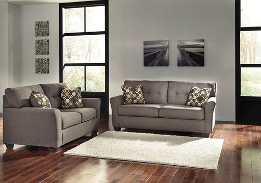 Tibbee Slate 2 Piece Living Room Set