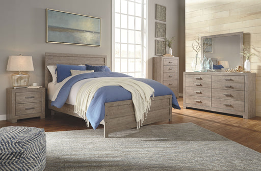 Culverbach Gray 5 Piece Queen Bedroom Set