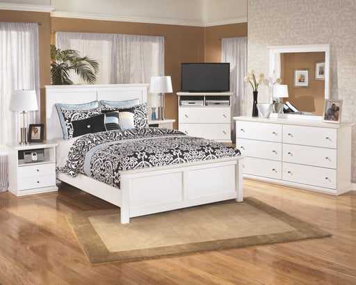 Bostwick Shoals White 5 Piece Queen Bedroom Set