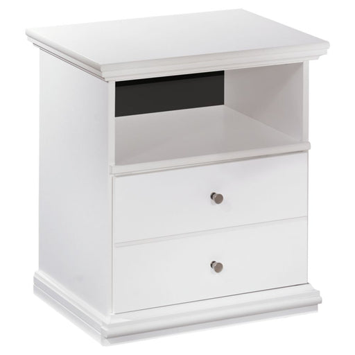 Bostwick Shoals White One Drawer Night Stand