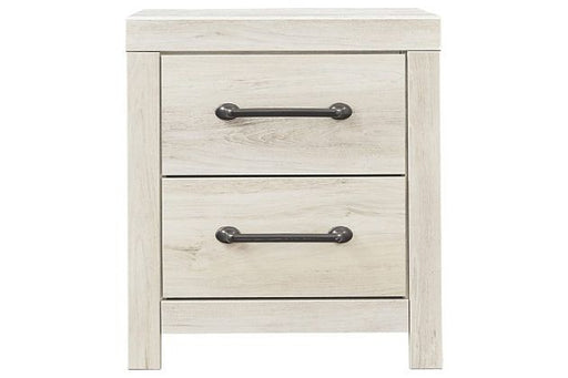 Cambeck Whitewash Two Drawer Nightstand