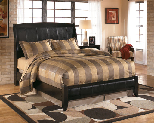 Harmony Dark Brown Queen Bed Frame