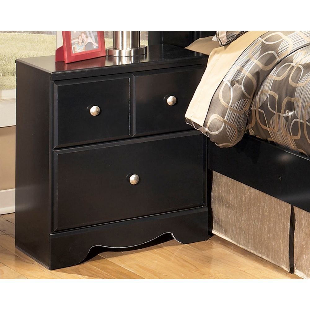 Shay Two Drawer Night Stand