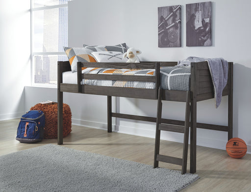 Caitbrook Gray Bunk Bed Frame
