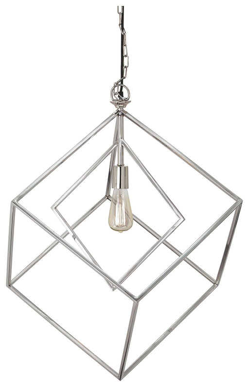 Neysa Silver Finish Metal Pendant Light