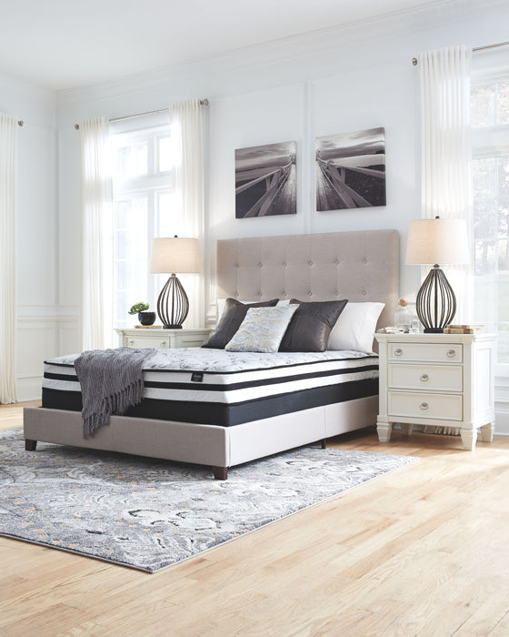 Chime Queen 8 Inch Inner Spring Mattress Set