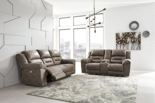 Stoneland Fossil 2 Piece Reclining Living Room Set