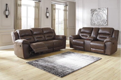 Stoneland Chocolate 2 Piece Power Reclining Living Room Set