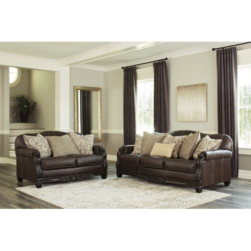 Embrook Chocolate 2 Piece Living Room Set