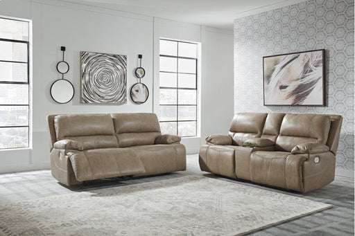 Ricmen Putty 2 Piece Power Living Room Set