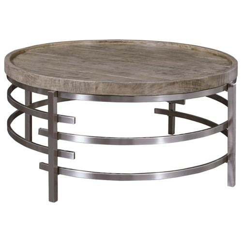 Zinelli Gray Round Cocktail Table