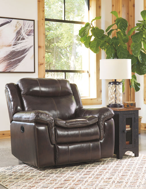 Lockesburg Canyon Leather Reclining Chair