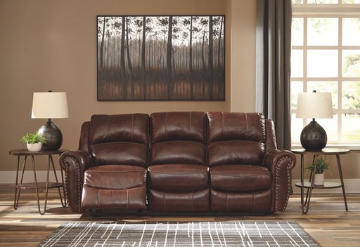 Bingen Harness Leather Power Sofa