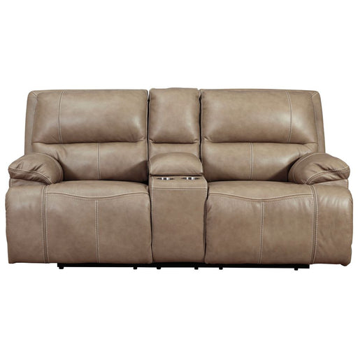 Ricmen Putty Power Reclining Loveseat